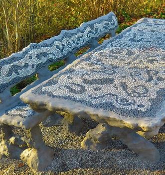 Familientisch Mosaik