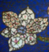 Wandblume Mosaik