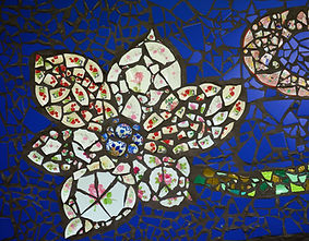 Mosaikblume
