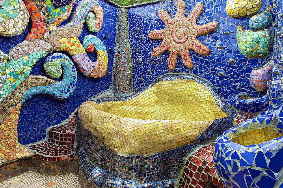 Kunst Aus Beton Und Mosaik ¦ Skulpturen ¦ Rolf Styger
