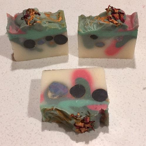 Vintage Rose Pampered Wolf Soap
