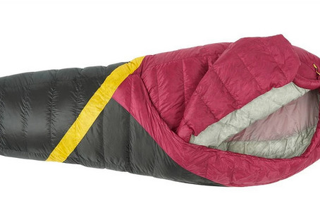 Geeking out on sleeping bags