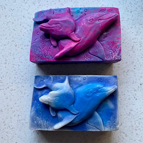 Whale and Calf Pampered Wolf Soap