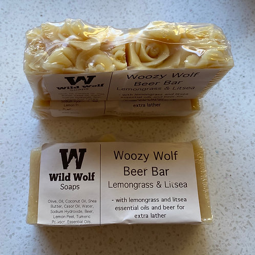 Boozy Wolf Beer Soap