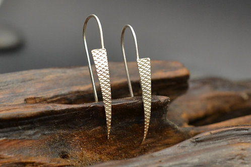 Houndstooth Texture Earrings