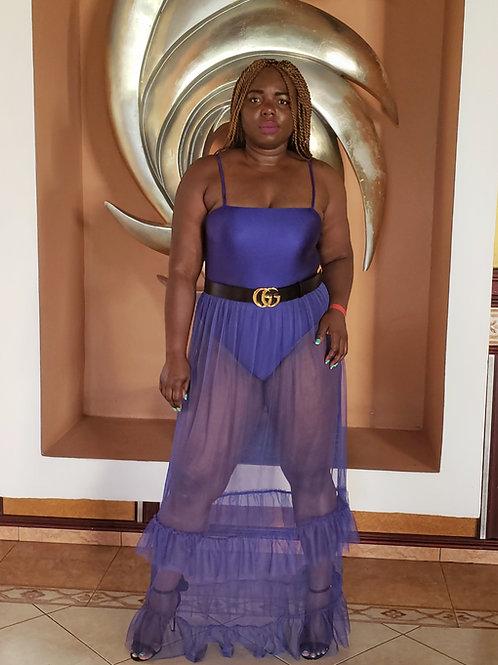 Bahamas Sexy Nylon Dress