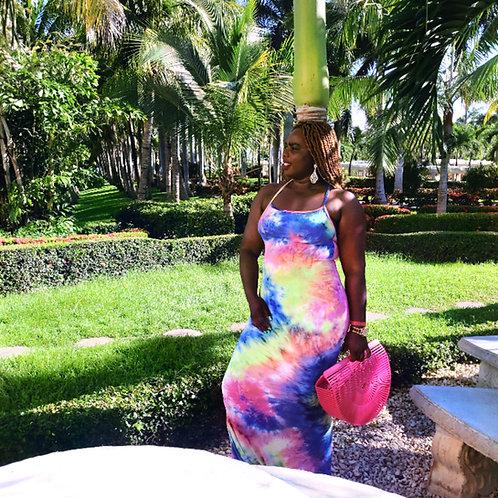 All Inclusive Multicolored Maxi Dress