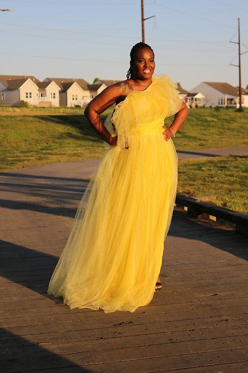 True Elegance Tulle Dress