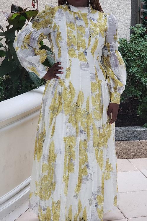 Harmona   Maxi Dress With Belt