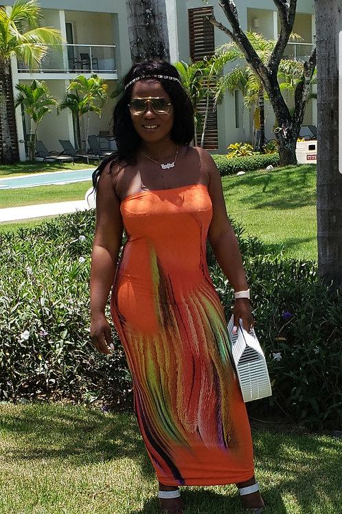 Simone tube dress
