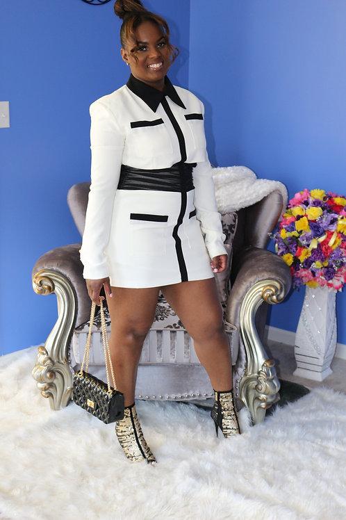 Persephone Blazer Dress