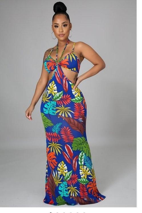 Fiona  Floral Maxi Dress