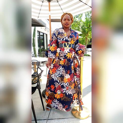 Emani Maxi Floral Dress