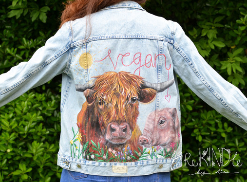 Hand Painted Jackets