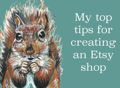 TOP TIPS FOR CREATING AN ETSY SHOP