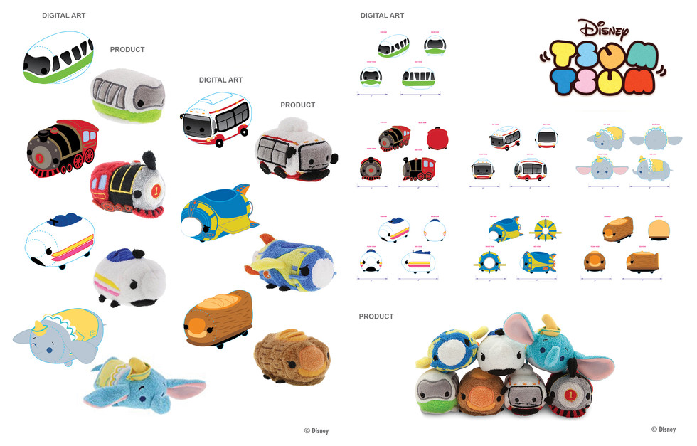 Attraction Vehicle Tsum Tsum ©Disney