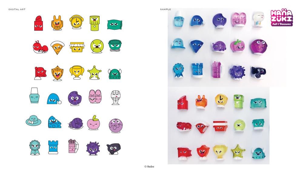 2018 Treasuring sets © Hasbro