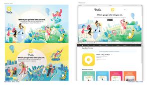 PinOn home page