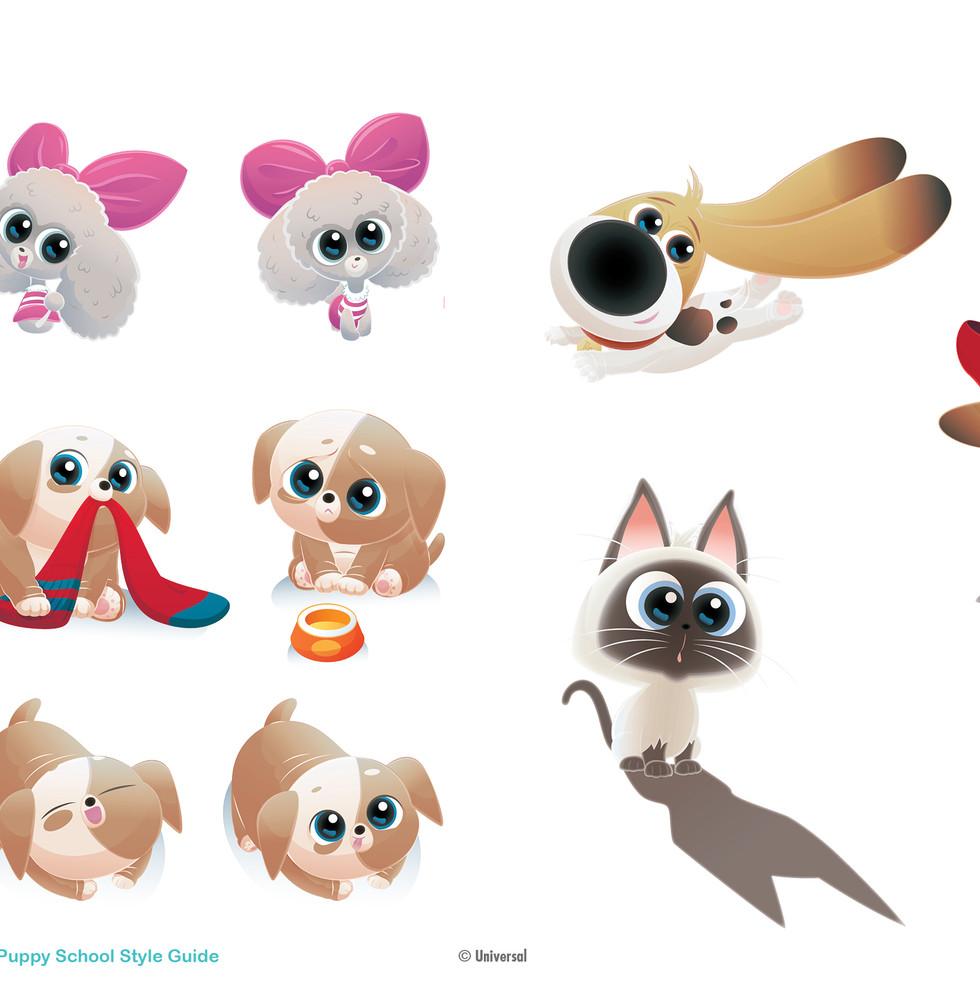 Puppy School SG © Universal