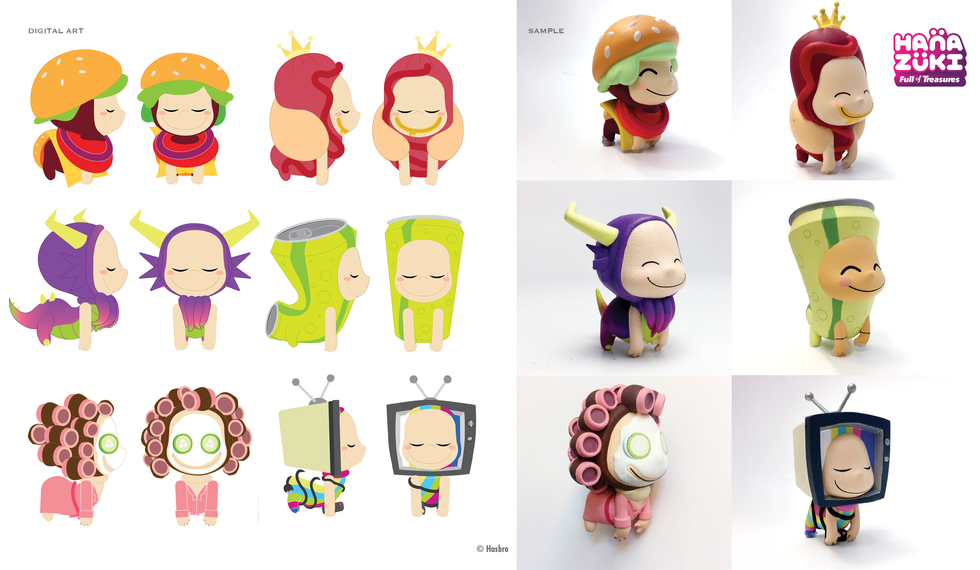 Little Dreamer collectibles © Hasbro