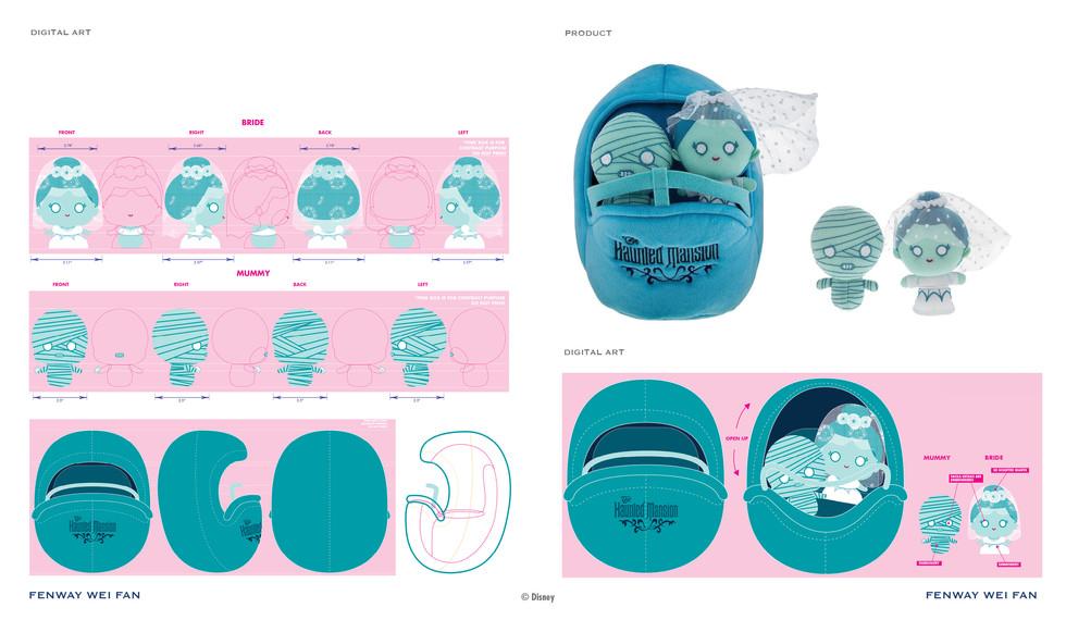 Disney Plush Doom Buggy Play Set ©Disney