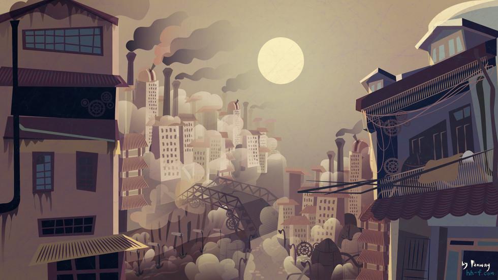 City background Art 2