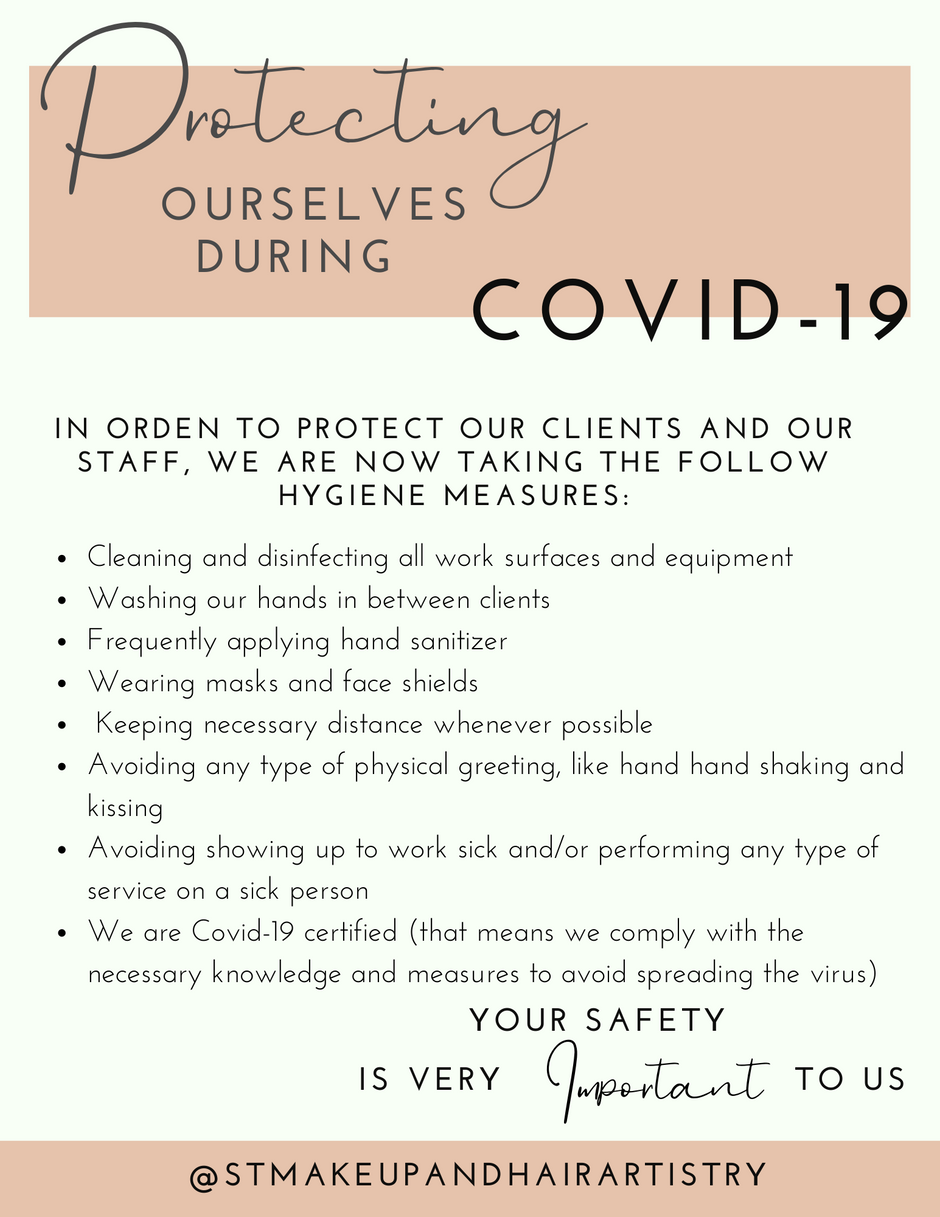 Protecting ourselves during COVID-19