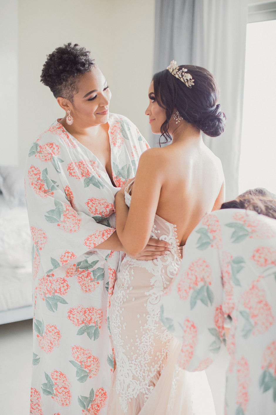 Makeup and Hair for Afro Brides and Bridesmaids