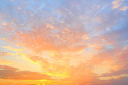 Luz en el cielo