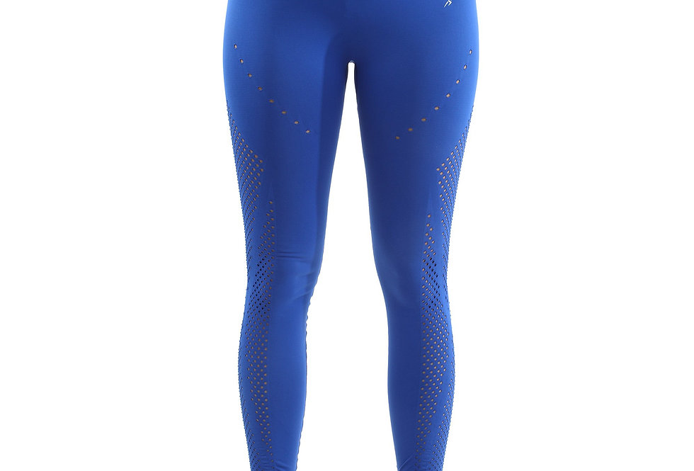 Revanel Milano Seamless Legging - Blue [MADE IN ITALY] - Size Small