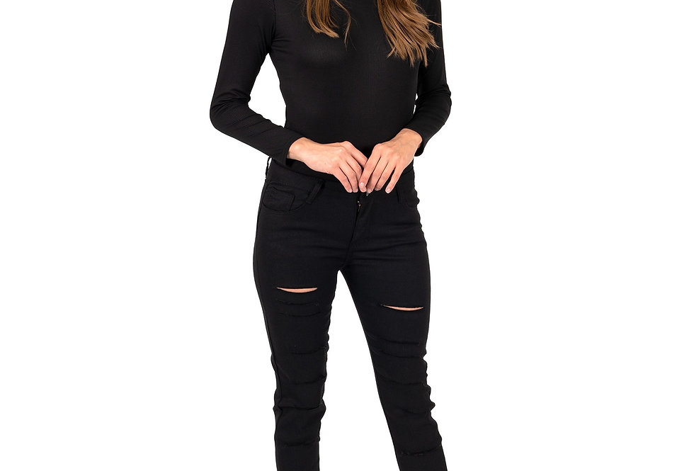 Revanel Clifton Ripped High Waisted Skinny Jeans