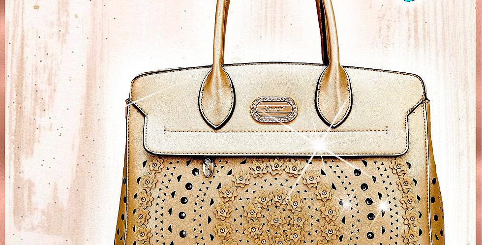 Rosè Celestial Star Handmade Women's Handbag