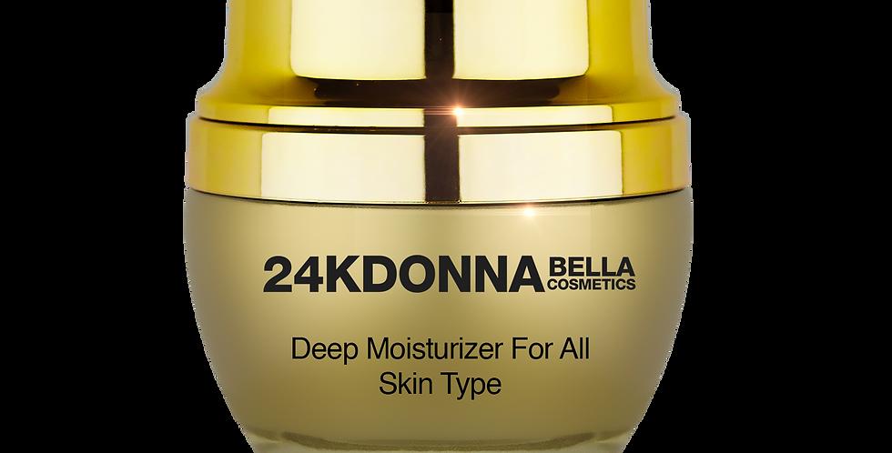 24k Deep Moisturizer for All Skin Type