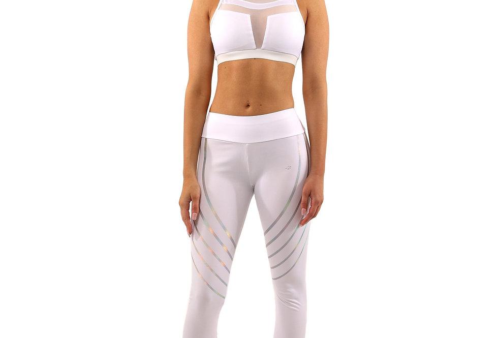 Revanel Laguna Set - Leggings & Sports Bra - White