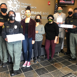 LBPD Meals for Heroes Donation