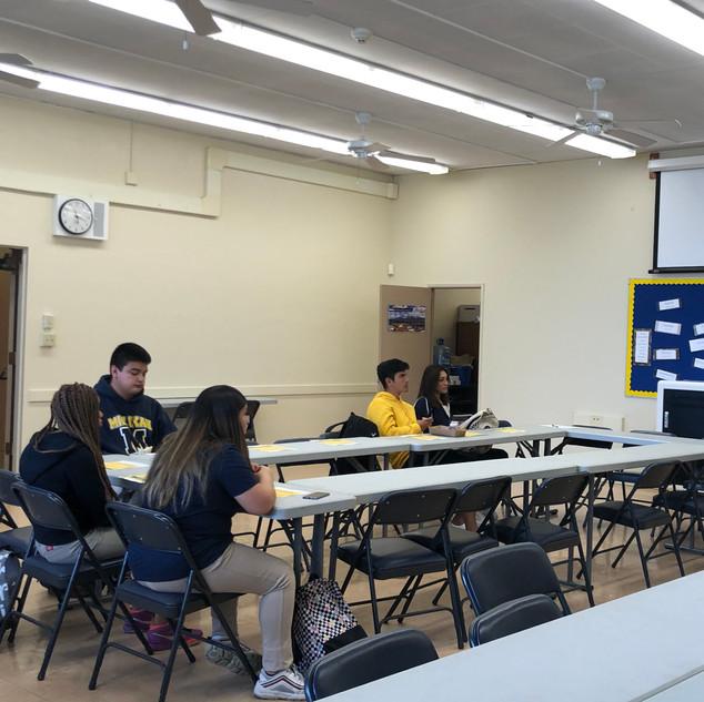 Milikan High School Higher Ed workshop.j