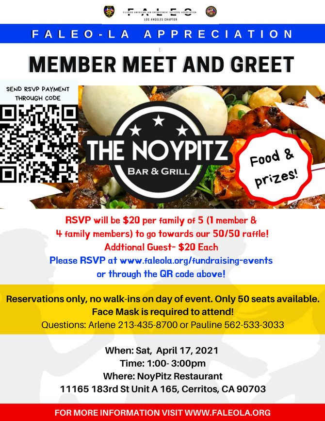 Member Appreciation and Noypitz Fundraiser