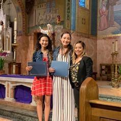 St. Anthony's Scholarship Recipient