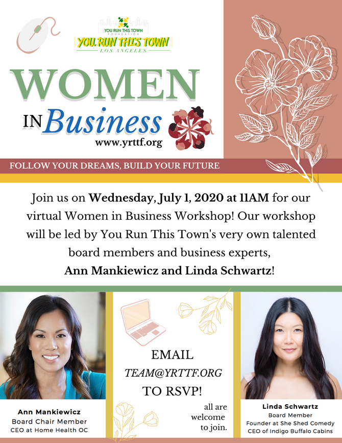 Women in Business Virtual Workshop