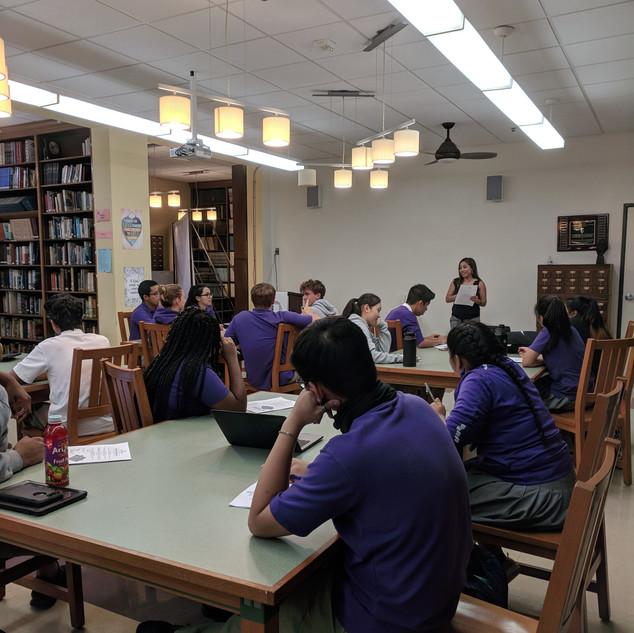 St. Anthony's High School Workshop