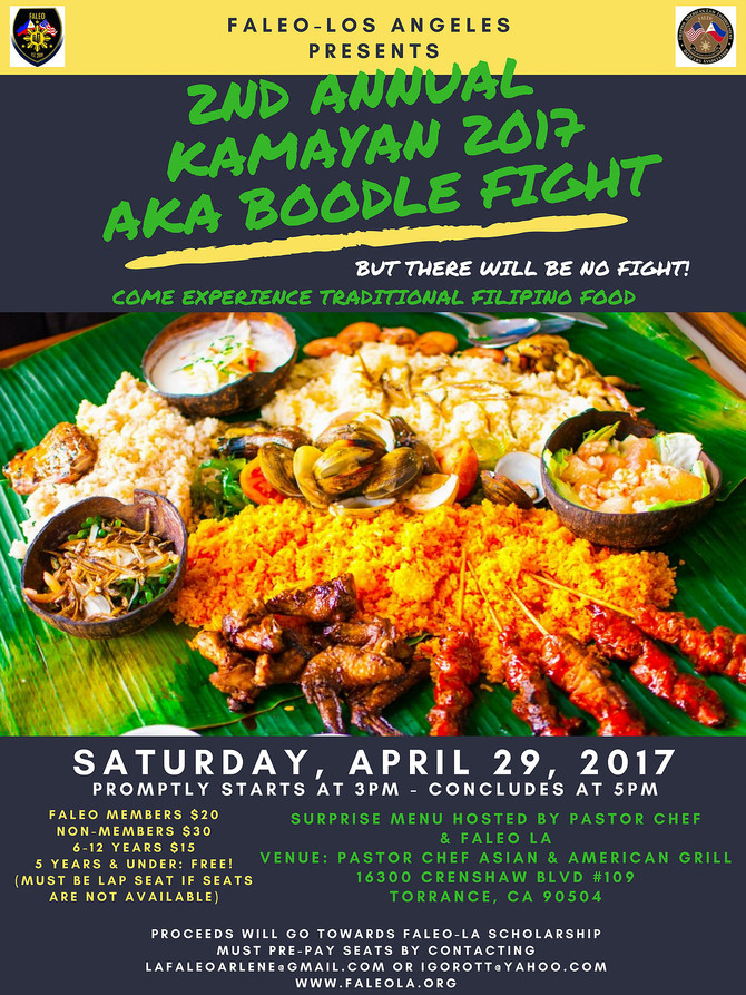 Calling all Foodies! It's Kamayan Time!