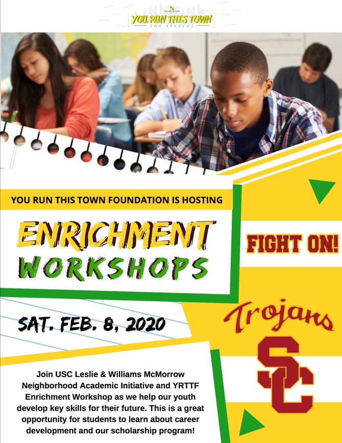 YRTTF x USC NAI Enrichment Workshop