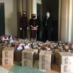 Jefferson HS Meal Donation 2020