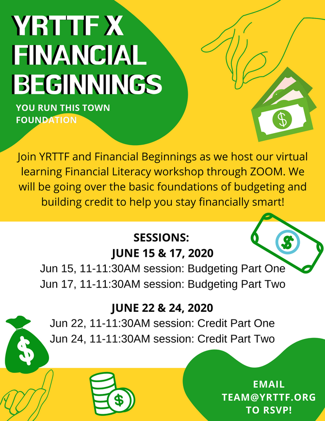 YRTTF x Financial Beginnings Workshop