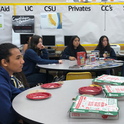 Milikan High School Pizza Party/Mentor w
