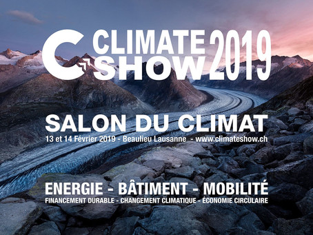 Extrait de l'article dans flashléman suite au salon du climat de Lausanne
