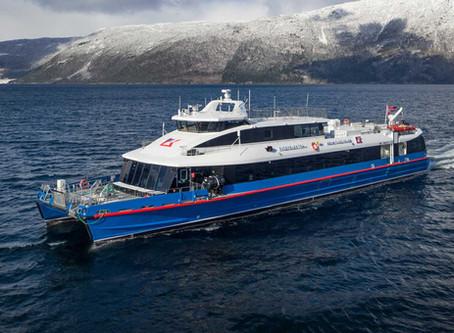 Ryger Elektra - Worlds fastest electric catamaran ferry
