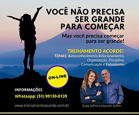 Flyer_Acorde_Treinamento on-line_27mar21