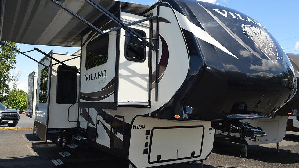 2017 Vilano 375FL 40' 5th Wheel 6 Slides