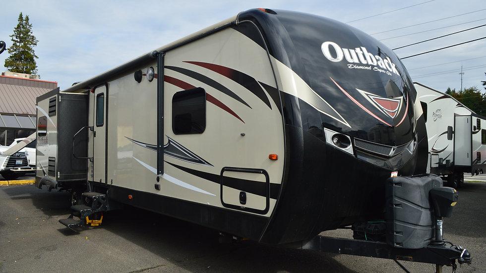 2017 KEYSTONE OUTBACK 325BH 37ft. Travel Trailer  3 Slides